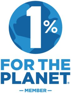 Proud member of 1% For The Planet